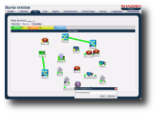 David system - the network management system: Node Browser Web application