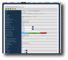 David system - the network management system: Pending Operation Browser Web application