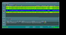 System David - system zarządzania siecią komputerową: Główny widok aplikacji graficznej xdgnp